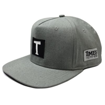 original gray logo front angle