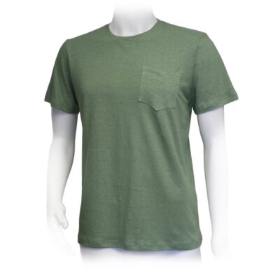 Pocket T Green Front 01